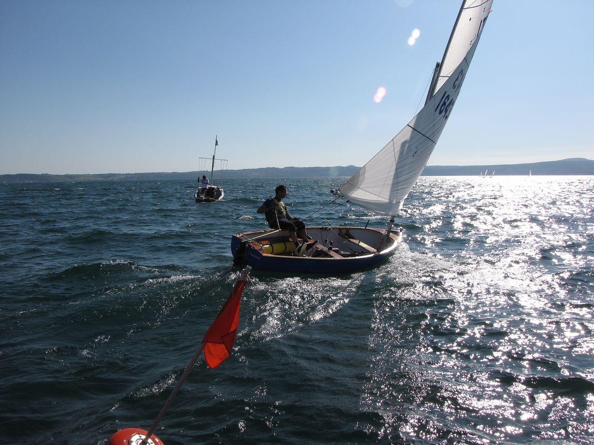 barche in regata durante trofeo fosco santini 2010
