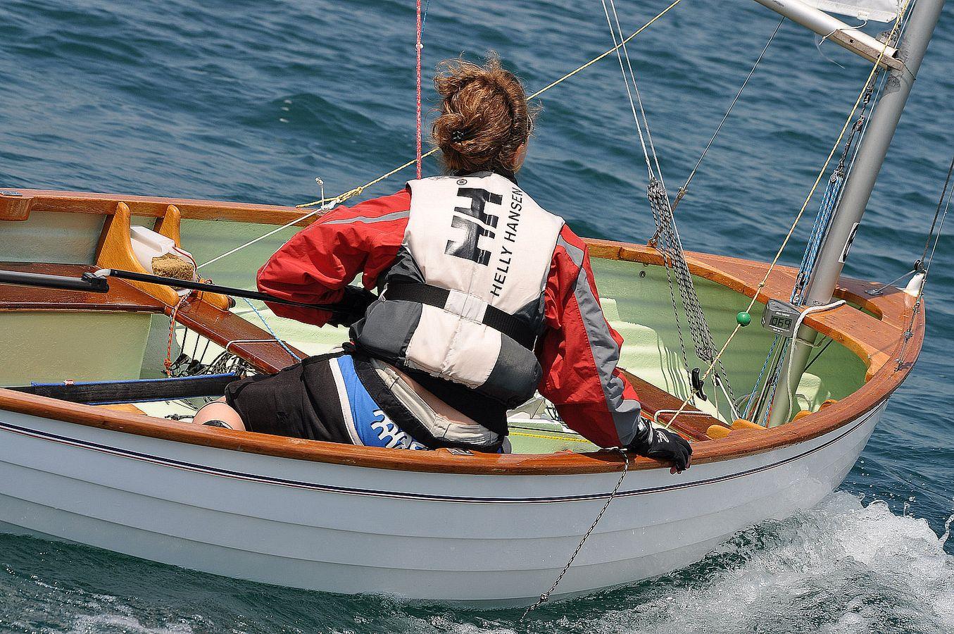 barche in regata durante trofeo fosco santini 2012