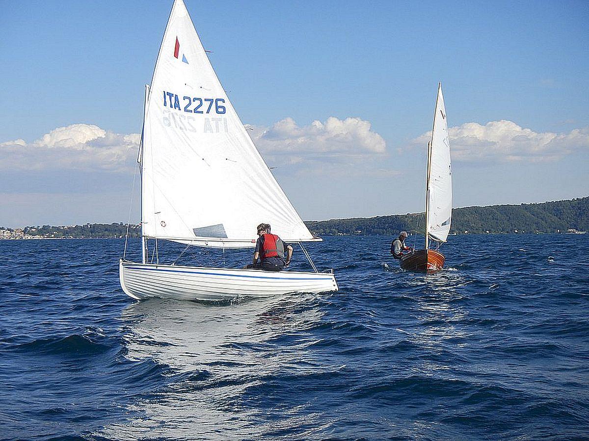 barche in regata durante trofeo fosco santini 2014
