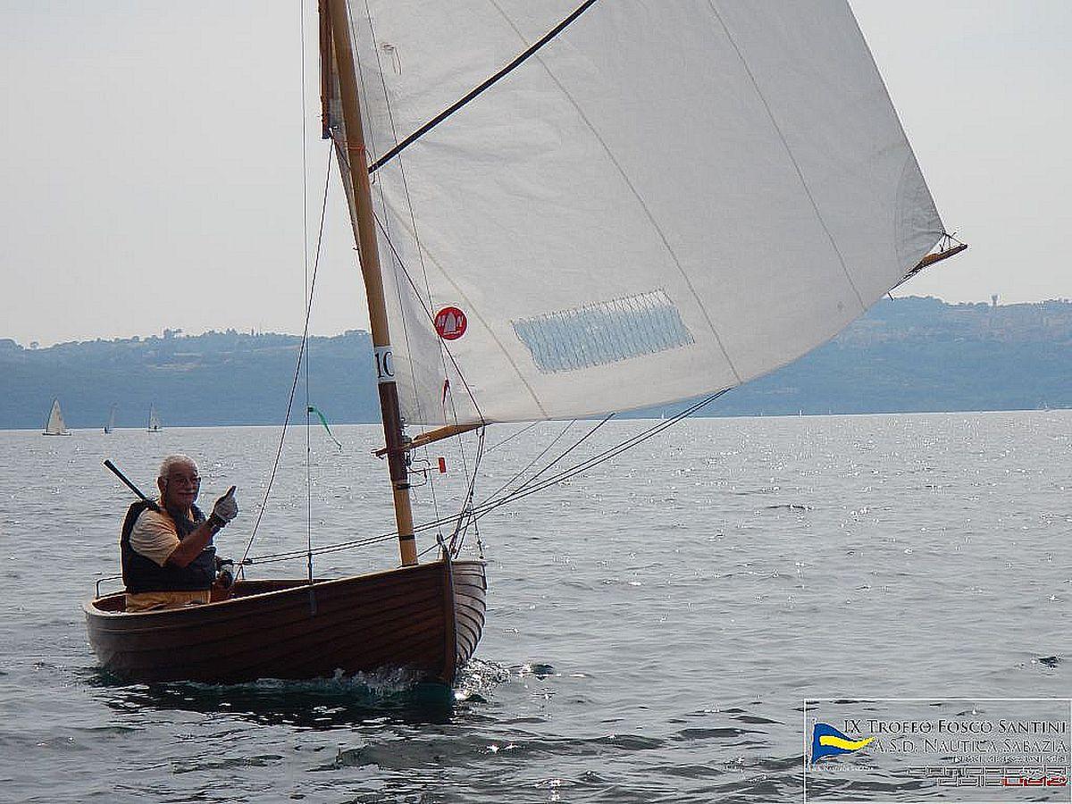 barche in regata durante trofeo fosco santini 2015