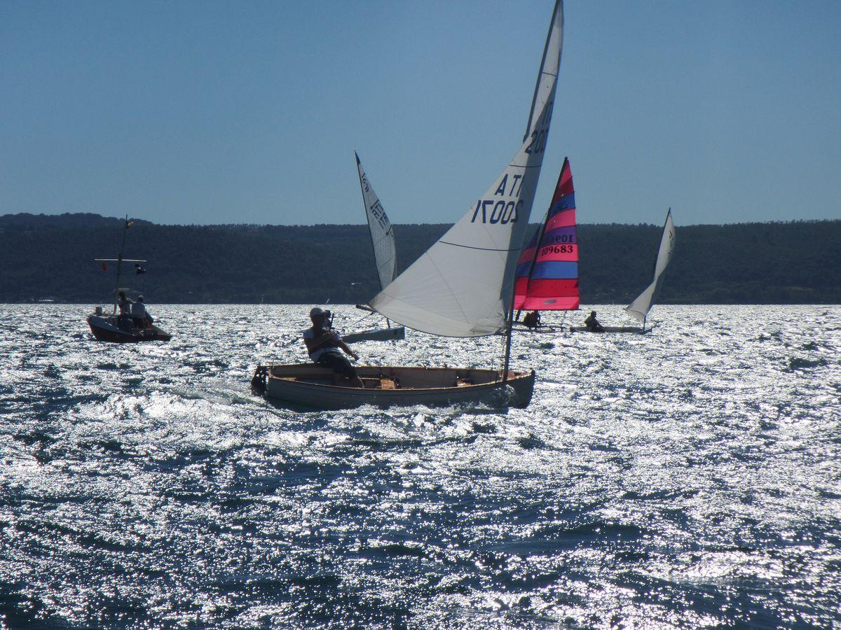barche in regata durante trofeo pietro scrimieri 2017