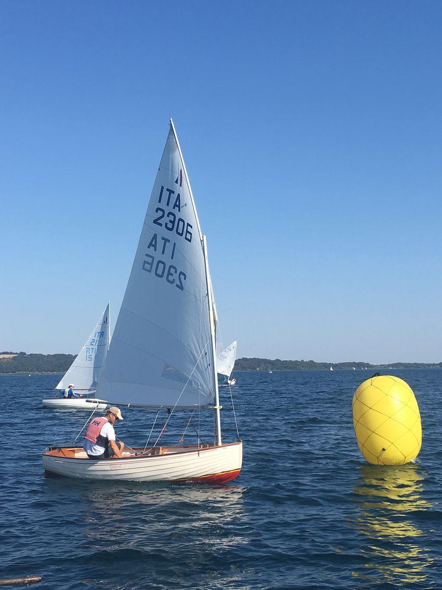barche in regata durante trofeo pietro scrimieri 2018