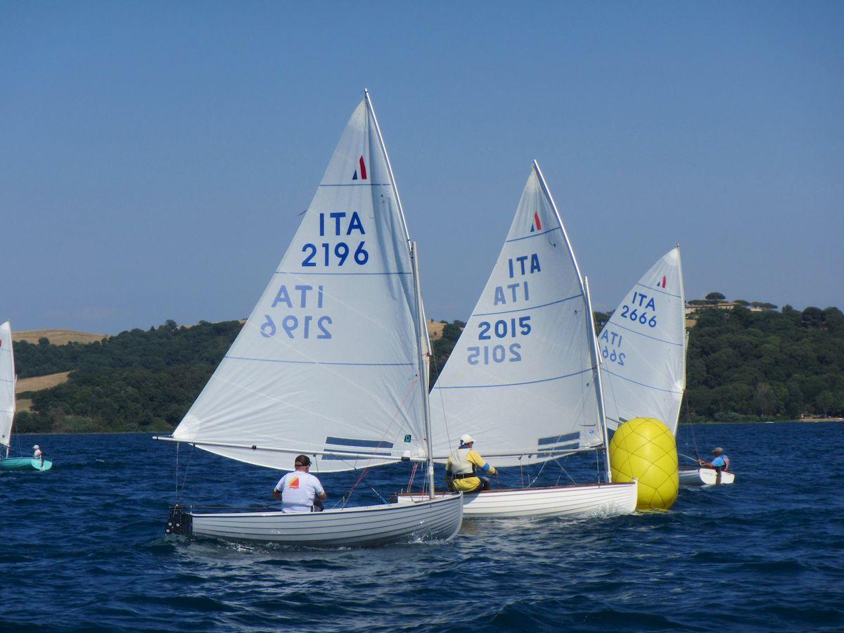 barche in regata durante trofeo pietro scrimieri 2019