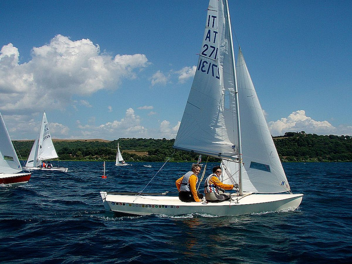 barche in regata durante trofeo vacanze romane 2010